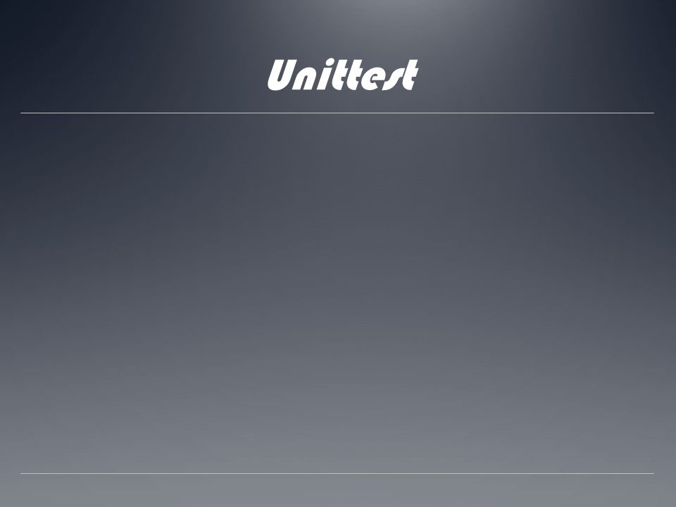 Unittest