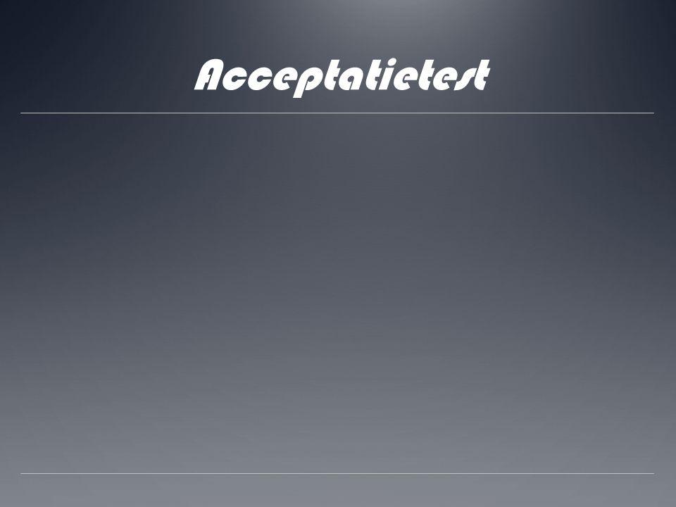 Acceptatietest