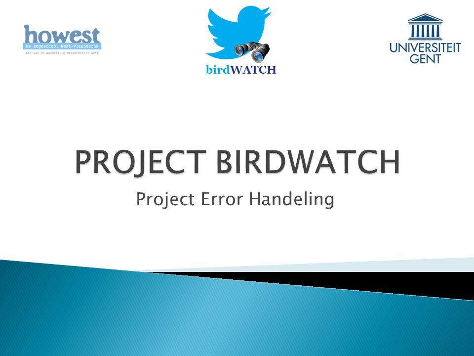 Project Error Handeling
