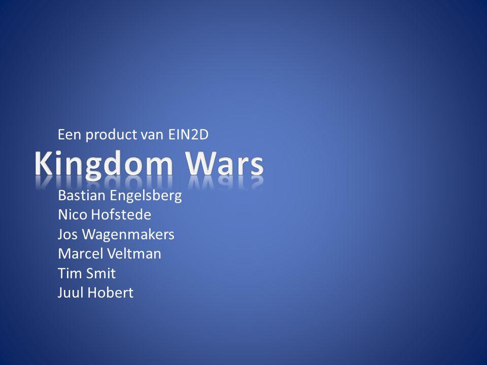 Een product van EIN2D Bastian Engelsberg Nico Hofstede Jos Wagenmakers Marcel Veltman Tim Smit Juul Hobert