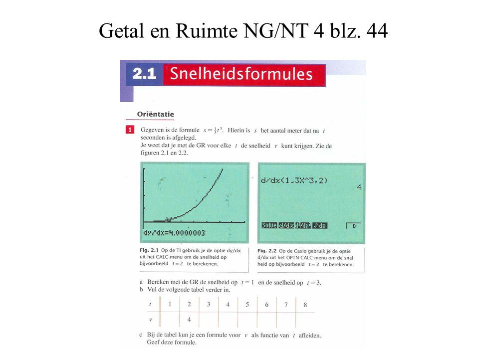 Getal en Ruimte NG/NT 4 blz. 44