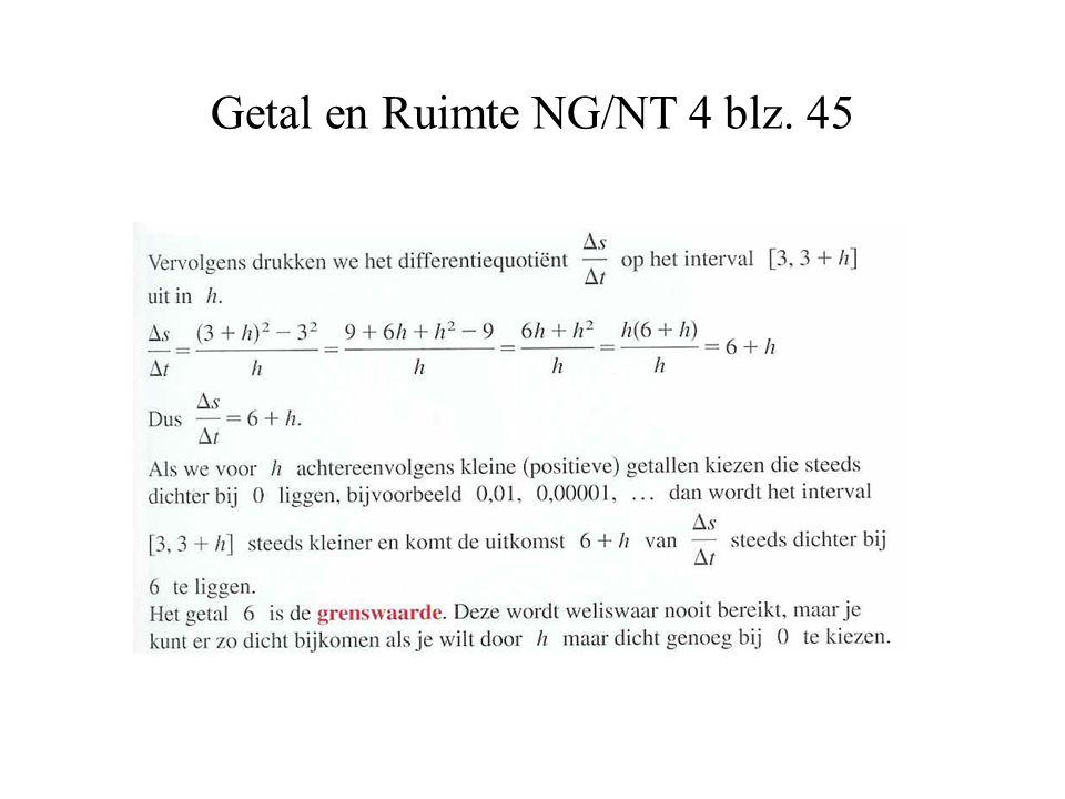 Getal en Ruimte NG/NT 4 blz. 45