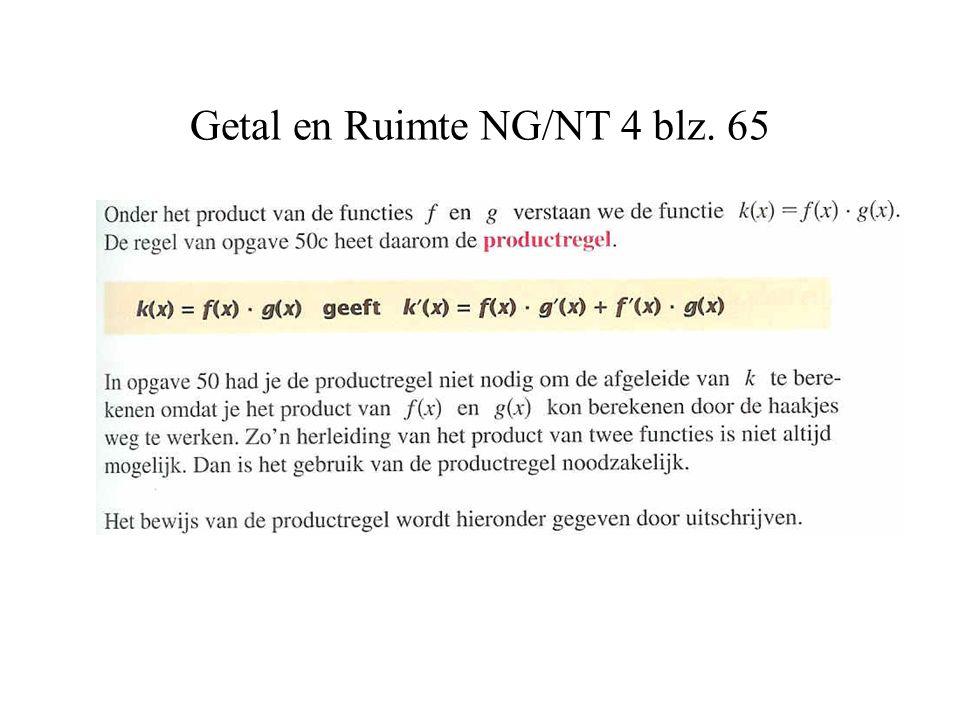 Getal en Ruimte NG/NT 4 blz. 65