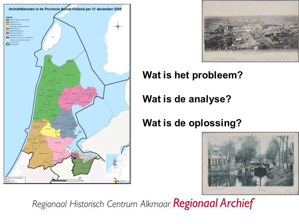 Wat doet het Regionaal Archief.