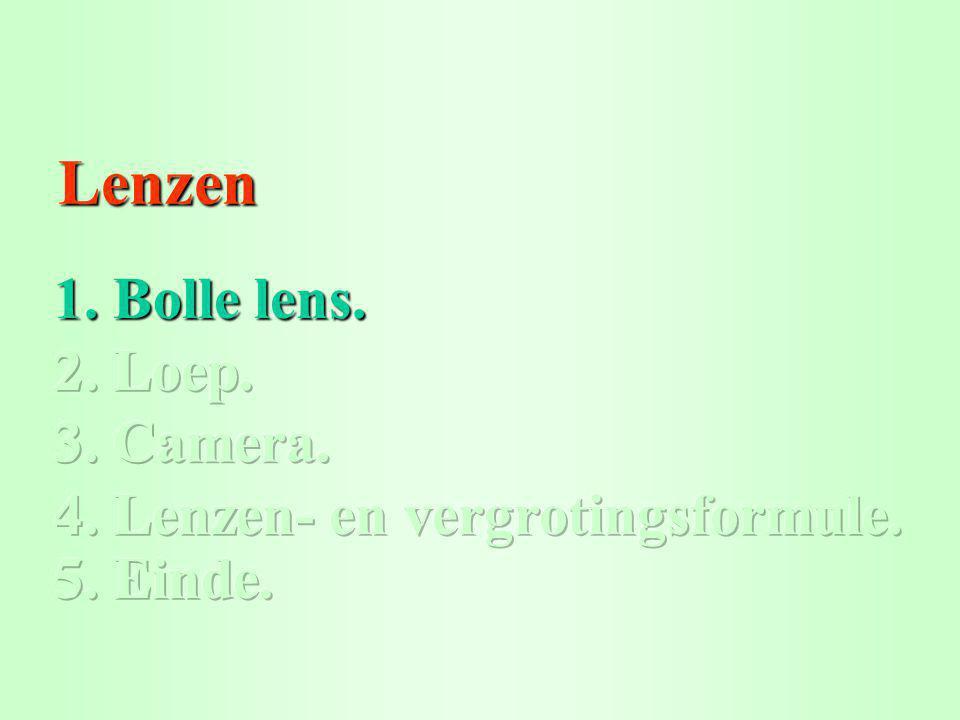 Lenzen Lenzen 1. Bolle lens. 1. Bolle lens.