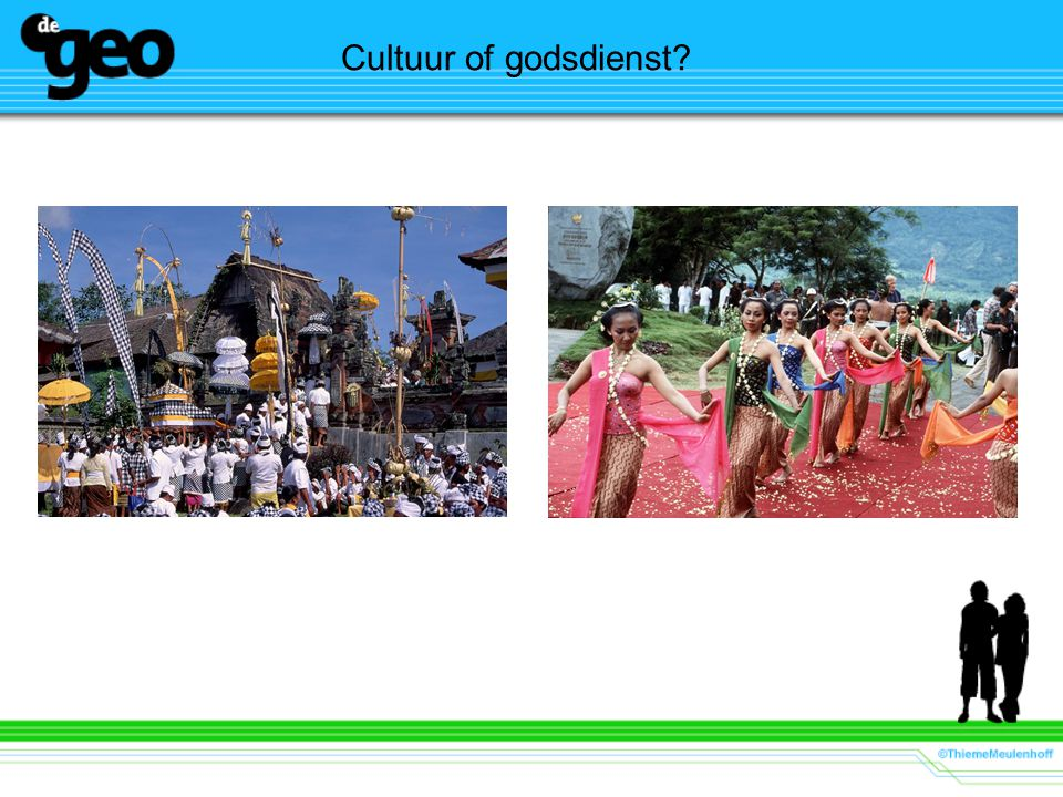 Cultuur of godsdienst?