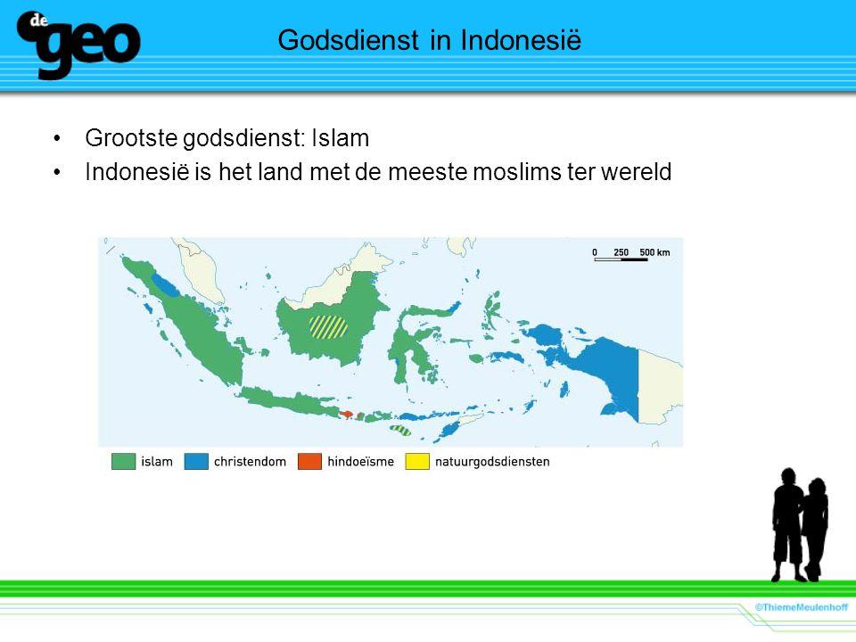 Godsdienst in Indonesië Grootste godsdienst: Islam Indonesië is het land met de meeste moslims ter wereld