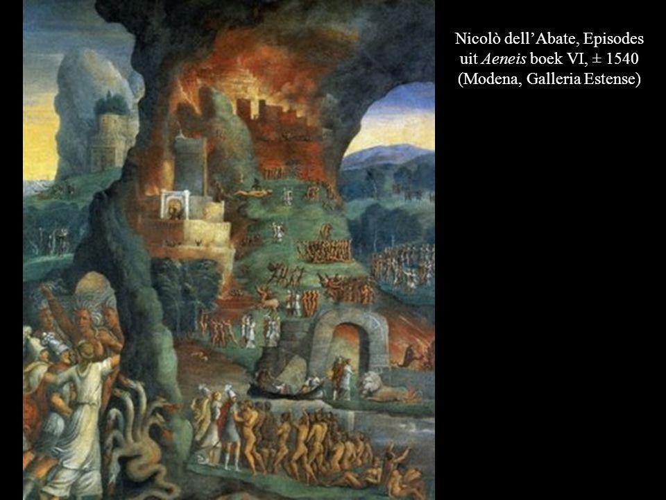 Nicolò dell'Abate, Episodes uit Aeneis boek VI, ± 1540 (Modena, Galleria Estense)
