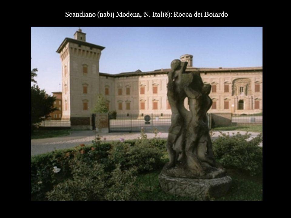 Scandiano (nabij Modena, N. Italië): Rocca dei Boiardo