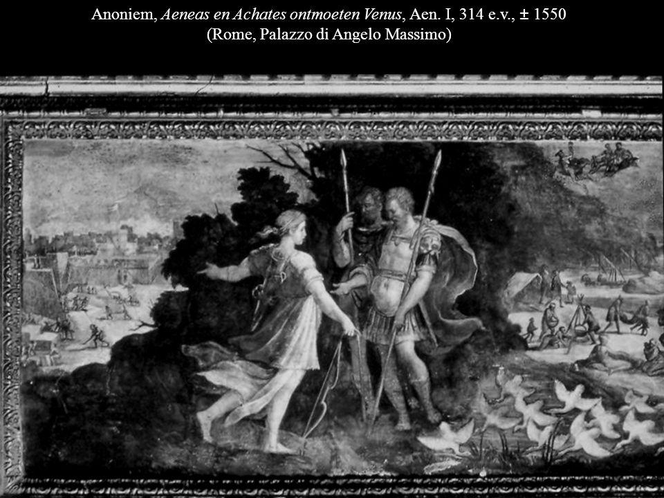 Anoniem, Aeneas en Achates ontmoeten Venus, Aen.