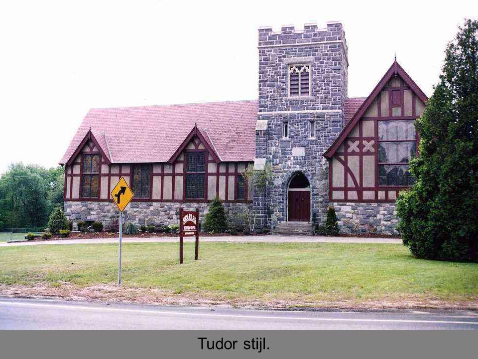 Tudor stijl.