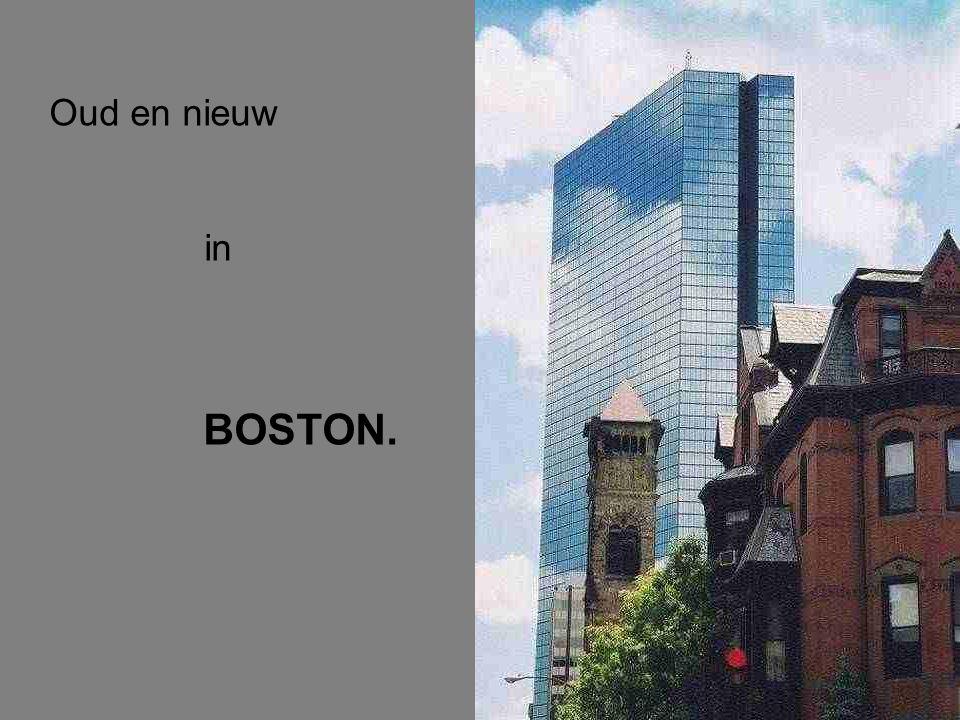 Oud en nieuw in BOSTON.