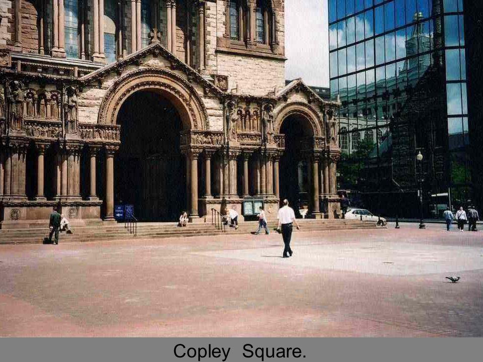 Copley Square.
