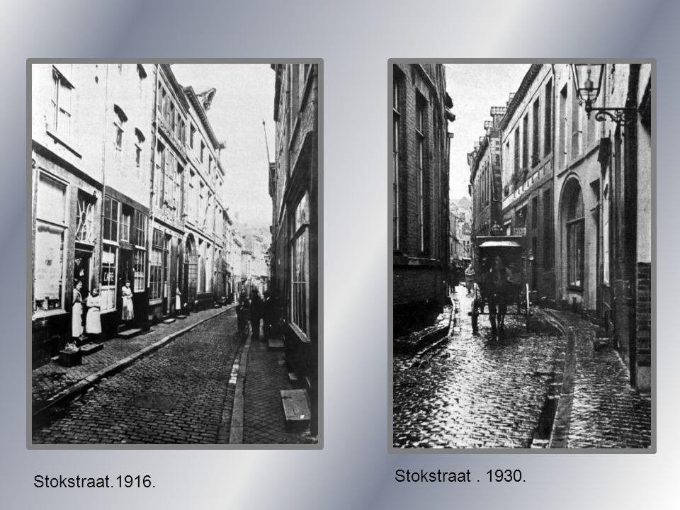 Visschersmaas. 1950. Visschersmaas. 1963. afbraak.