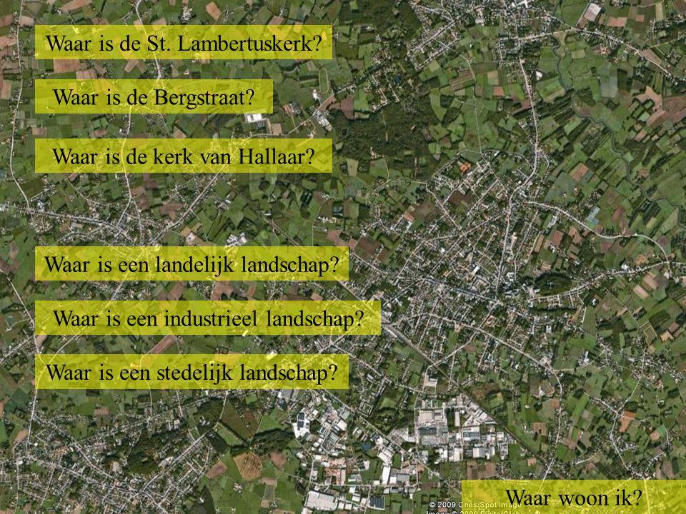 Waar is de St. Lambertuskerk. Waar is de spoorlijn Lier -Aarschot.