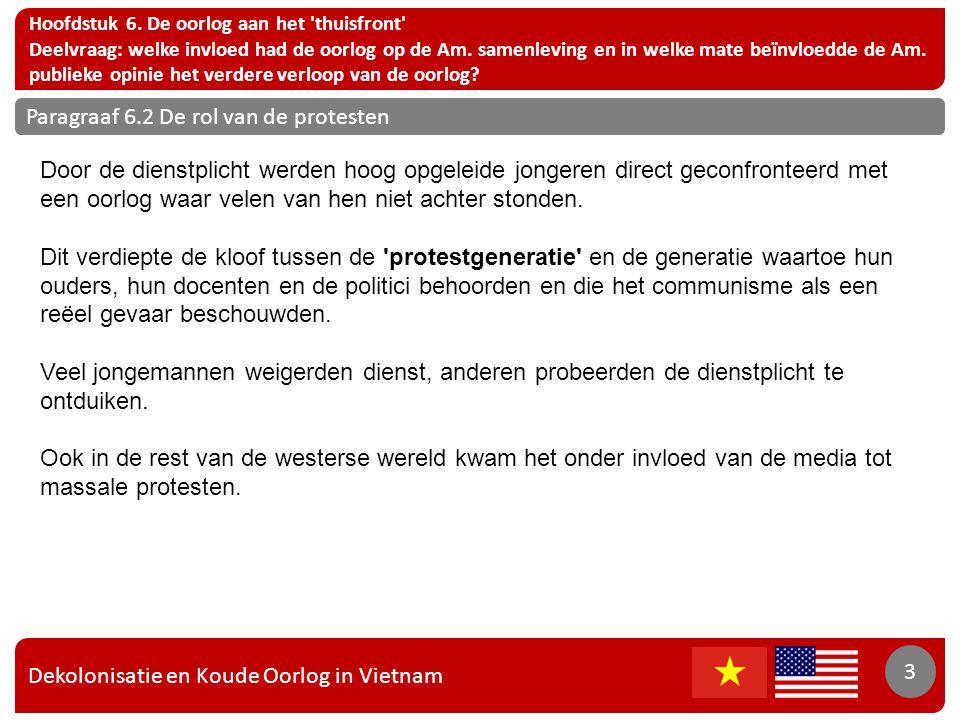 Dekolonisatie en Koude Oorlog in Vietnam 4 Hoofdstuk 6.