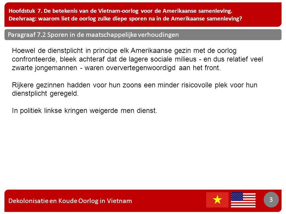 Dekolonisatie en Koude Oorlog in Vietnam 3 Hoofdstuk 7.