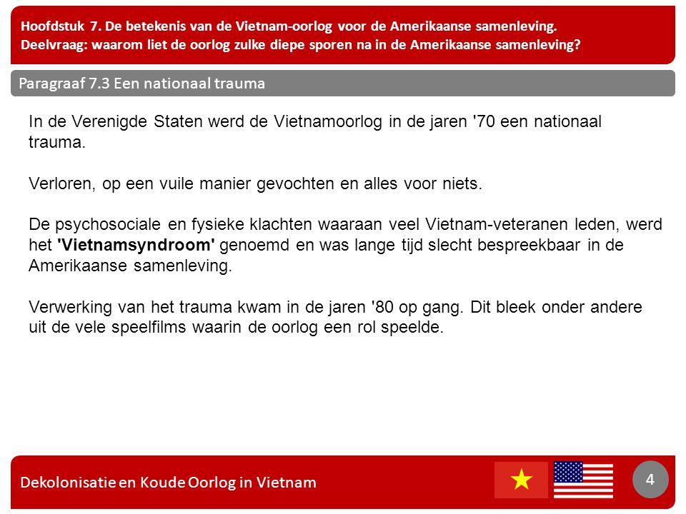Dekolonisatie en Koude Oorlog in Vietnam 4 Hoofdstuk 7.