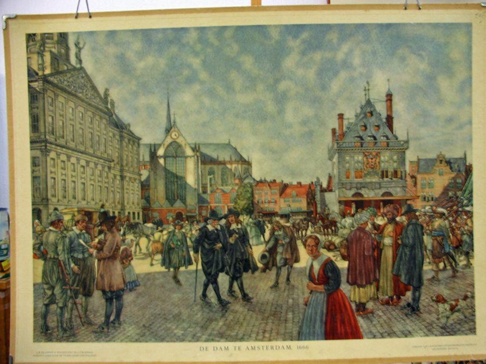 Schilderijen overdag bedekt 's avonds gordijn open en urenlang kijken naar herkenbare taferelen.