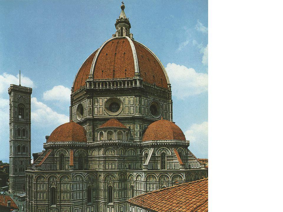 Brunelleschi is de eerste moderne architect.