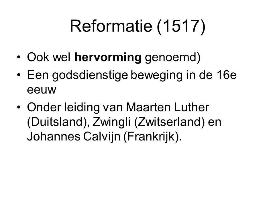 Bedoeld om de katholieke Kerk van binnenuit te hervormen Maar door afwijzing van de katholieke leiders een geheel nieuwe beweging.
