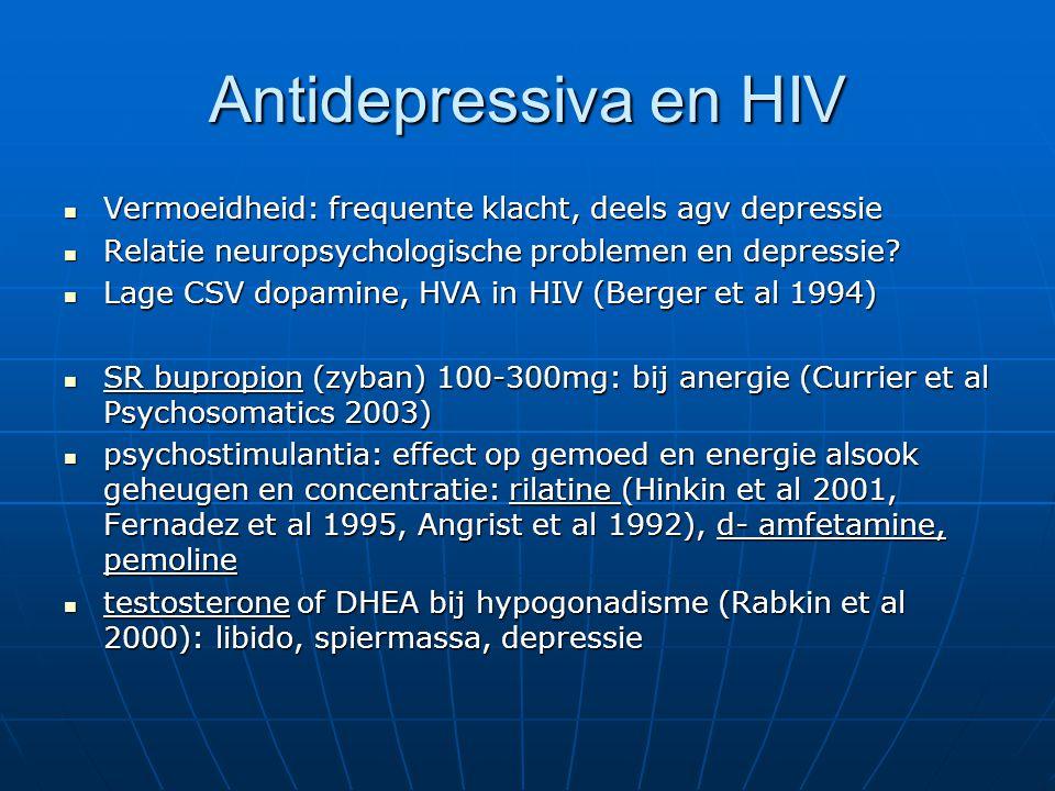 Antidepressiva zijn doeltreffend met een verbetering van de levenskwaliteit bij verbetering van depressie MAAR...
