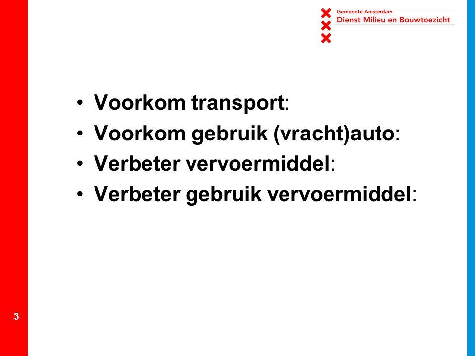 4 Vervoermanagement bij zorginstellingen?