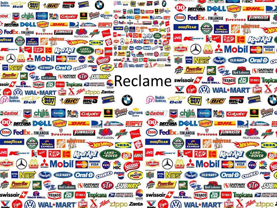 Reclame is een manier om meningen van mensen over een product te beïnvloeden.