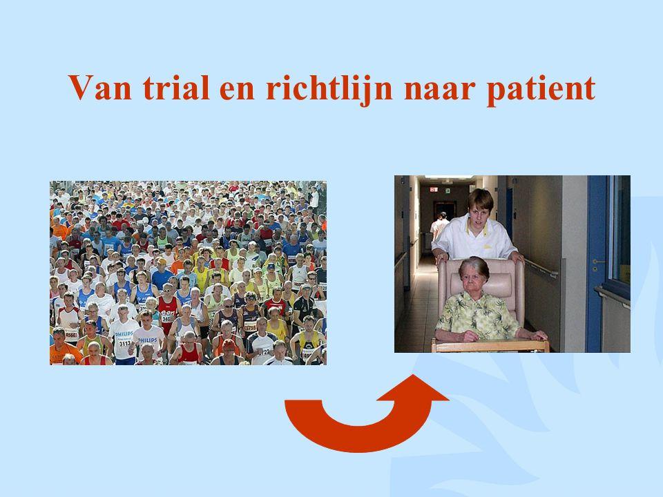 Van trial en richtlijn naar patient