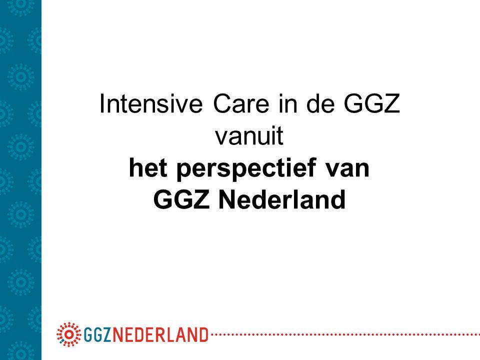 Visiedocument van GGZ Nederland 2006-2009 'De Krachten Gebundeld' Een van de doelstellingen: Terugdringen van Dwang & Drang en met name het aantal separaties met 10% per jaar