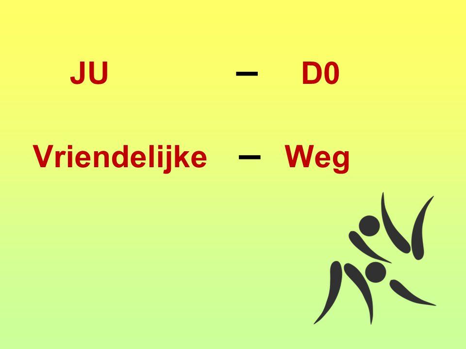 Vriendelijke – Weg JU – D0