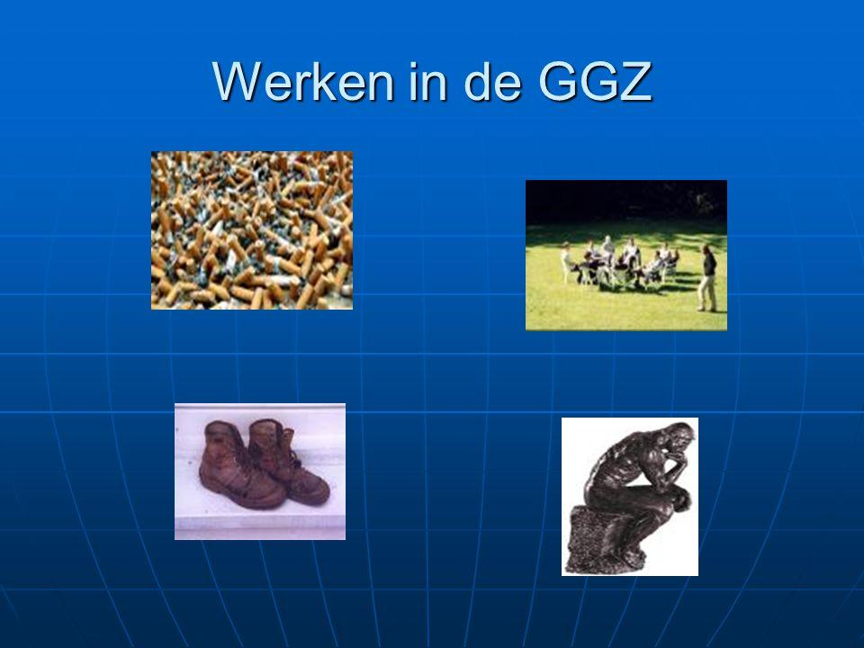 Werken in de GGZ