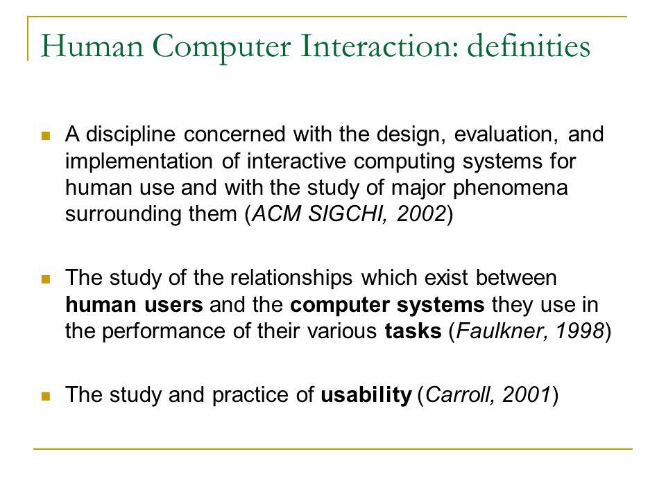 HCI: ontwikkeling, jaren 60/70 HCI Software engineering Computer graphics Cognitive science Software psychology