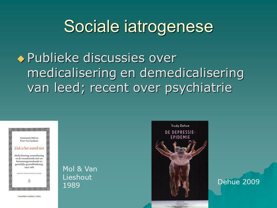 Structurele iatrogenese … wordt hard aangepakt