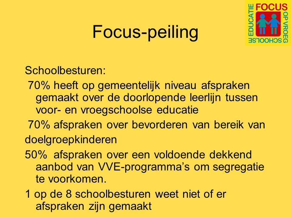 Focus-peiling Besturen en gemeenten op 1 lijn.
