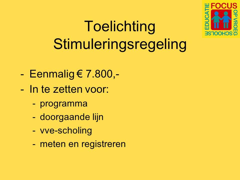 Inhoud ondersteuningstraject Website www.focusvroegschool.nl Helpdesk Ondersteunende brochures Proeftuinen