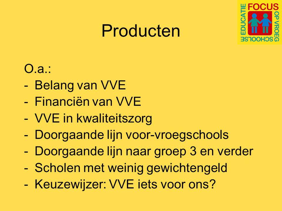 Vroegschoolse educatie: de stand van zaken - Landelijke VVE-monitor - Focus-peiling