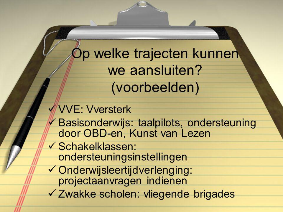 Wat voor kader kunnen we opstellen.Een lokaal taalbeleidsplan (pag.