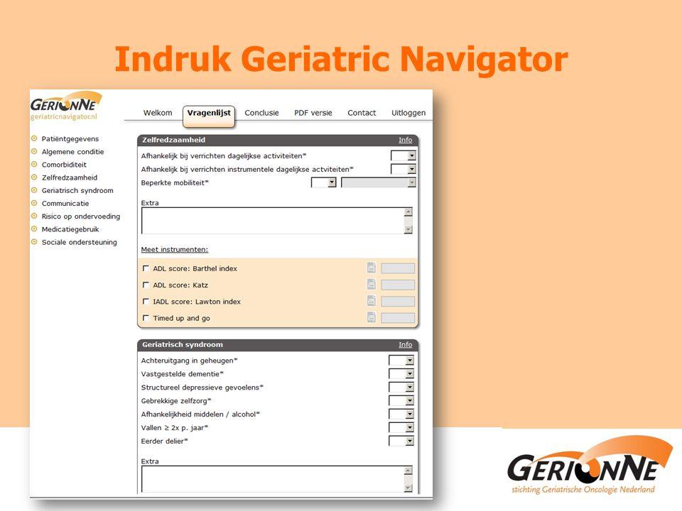 Indruk Geriatric Navigator