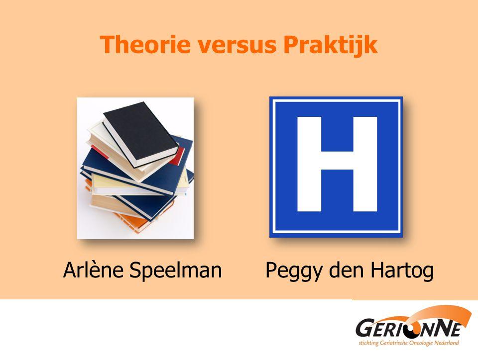 Theorie versus Praktijk Arlène SpeelmanPeggy den Hartog