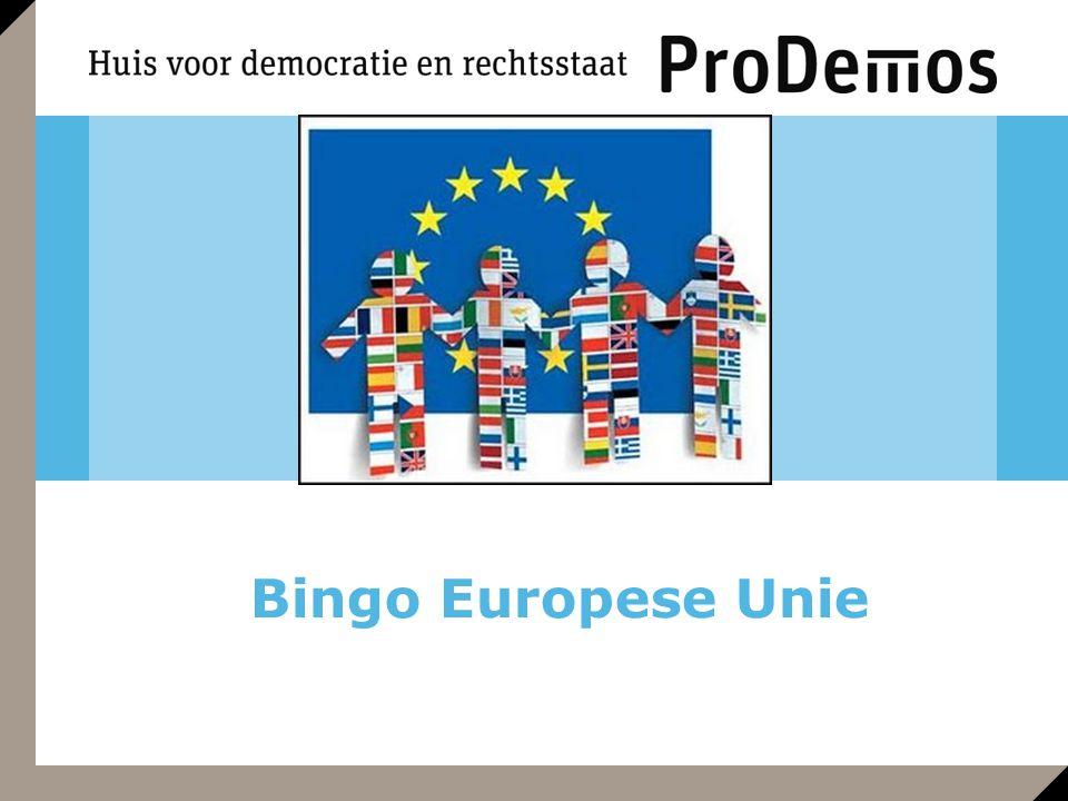 Bingo Europese Unie