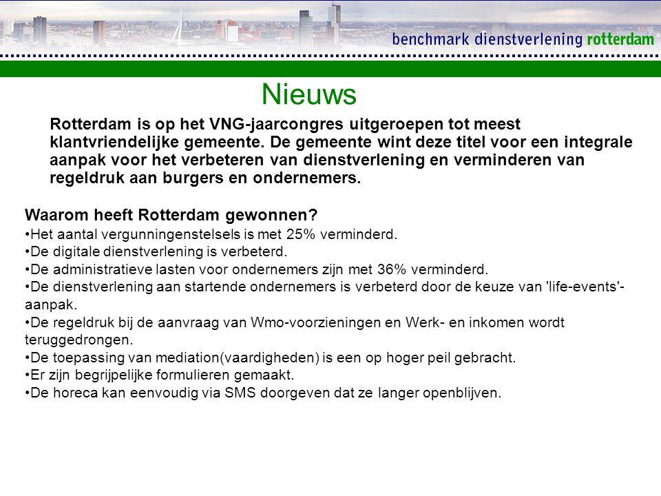KTO Deelgemeenten Rotterdam Het onderzoek De resultaten