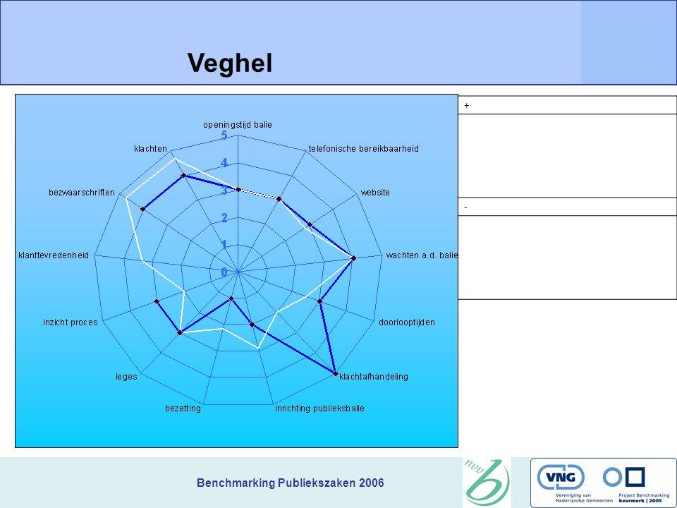 Benchmarking Publiekszaken 2006 + Veghel -