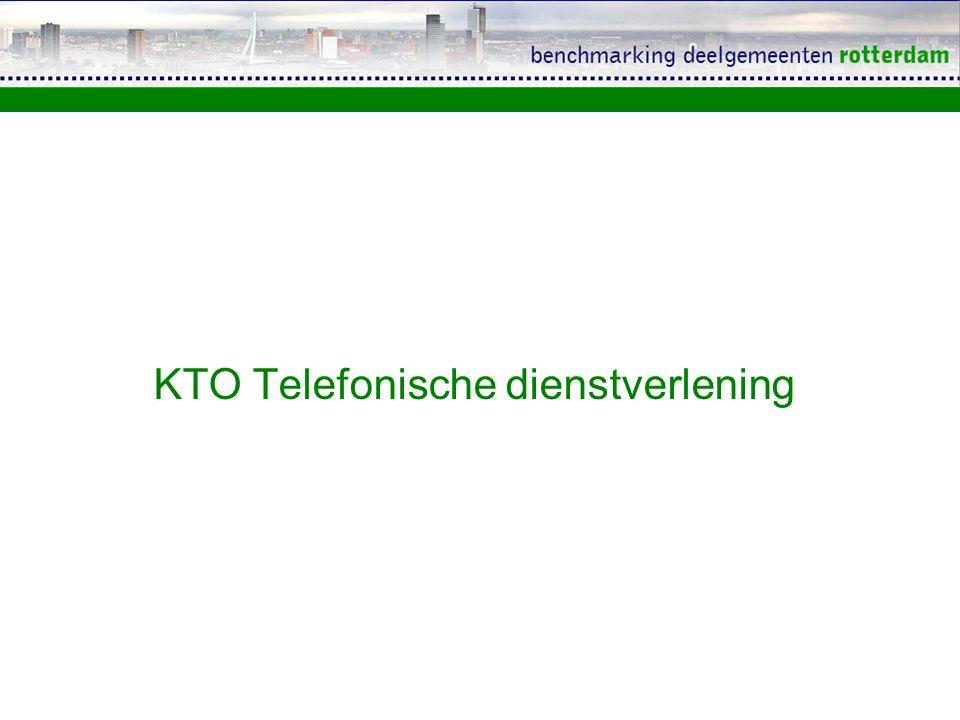 KTO Telefonische dienstverlening