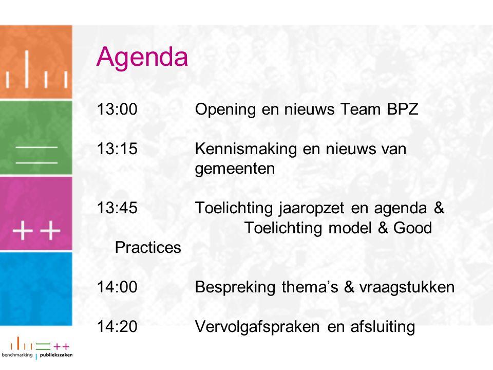 Afsluiting Vanaf 16 februari: invullen indicatoren 23 februari: deadline KTO's & aanleveren contactgegevens 27 maart: 1 e deadline dataverzameling (validatie) Handleiding (en toelichtingen) op de website Tot slot: sheets, verslag, foto's, vragen: www.benchmarking-publiekszaken.nlwww.benchmarking-publiekszaken.nl of info@benchmarking-publiekszaken.nl info@benchmarking-publiekszaken.nl