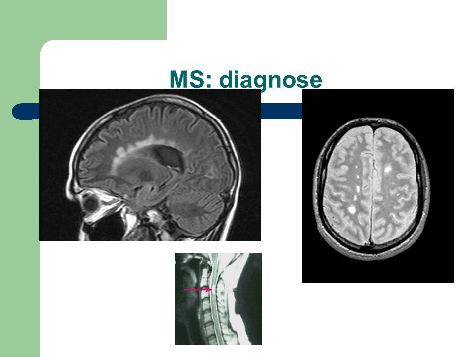 MS: diagnose