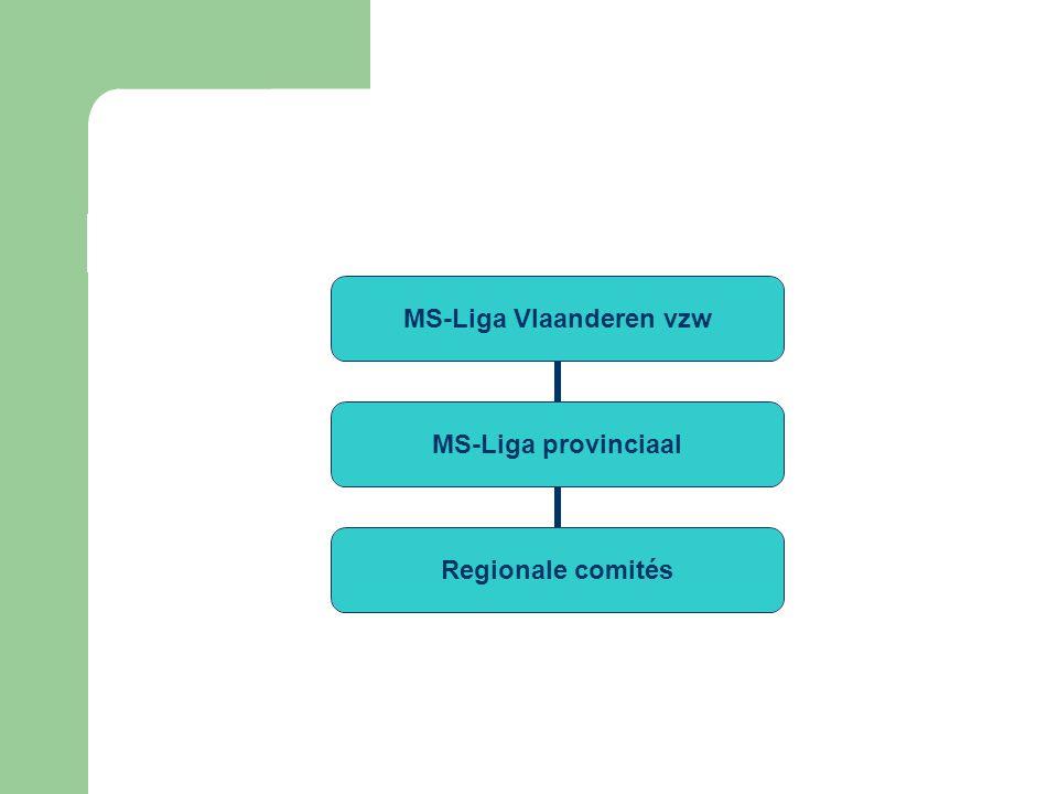 MS-Liga Vlaanderen vzw MS-Liga provinciaal Regionale comités