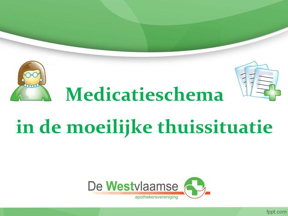 Stappenplan IMV Huisapotheker maakt in overleg met de patiënt het medicatieschema op en laat het valideren door de huisarts.