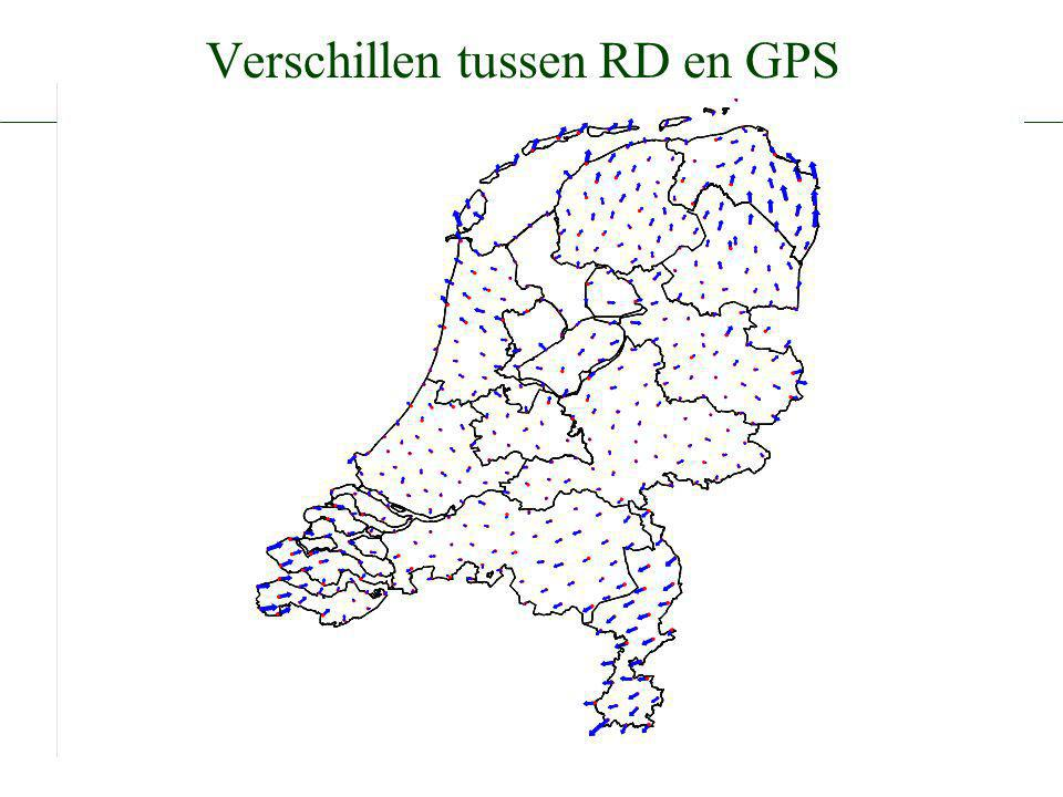 De geodetische referentiestelsels van Nederland Definitie en vastlegging van ETRS89, RD en NAP en hun onderlinge relaties Arnoud de Bruijne, Joop van Buren, Anton Kösters, Hans van der Marel Nederlandse Commissie voor Geodesie 43, Delft, 2005.