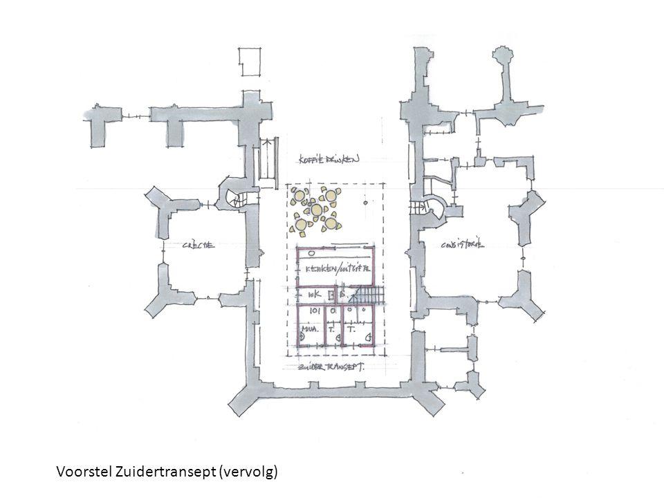 11 Voorstel Zuidertransept (vervolg)